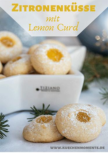 Zitronenküsse klein, fein. fruchtig
