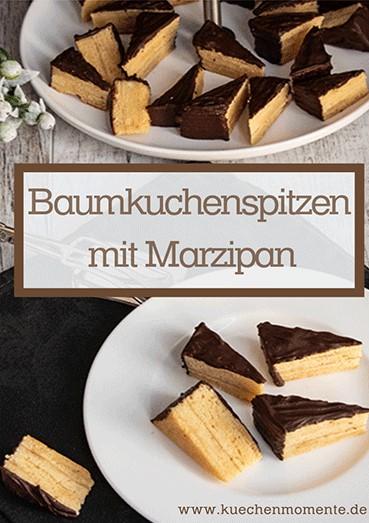Baumkuchenspitzen mit Amaretto