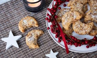 Kokos Krokant Monde zu Weihnachten