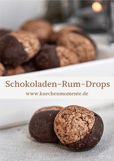 Schokoladen-Rum-Drops