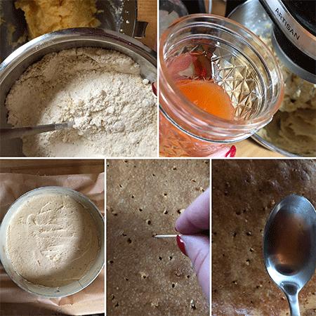 Zubereitung Apertivo Spritz Kuchen