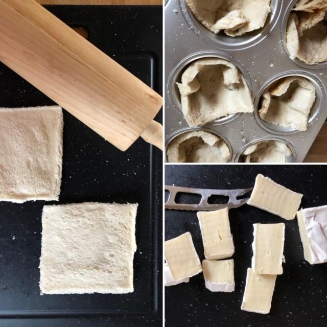 Zubereitung Toastkörbchen