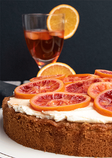 Der paasende Kuchen zum Cocktail Aperitivo:-Spritz