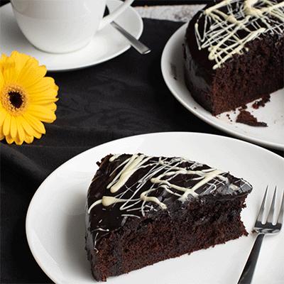 Saftiger Schokoladenkuchen Kuchenmomente