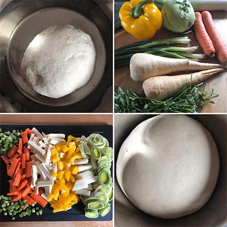Collage_Gemüsekuchen