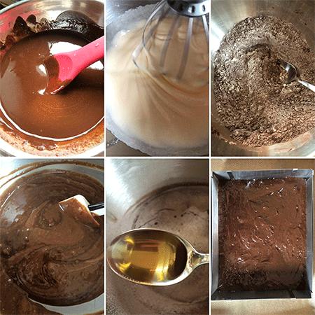 Zubereitung Brownies