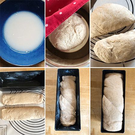 Zubereitung Toastbrot