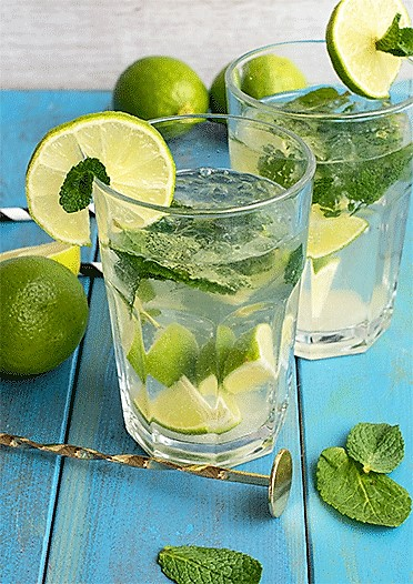Sommercocktail Mojito