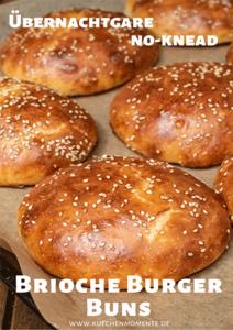 Brioche Burger Buns Pinterestpost