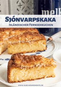 Isländerischer Kuchen Pinterestpost