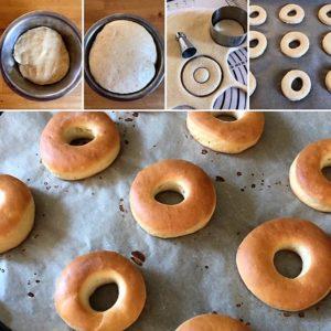 Zubereitungsschritte Donut Maple Bacon