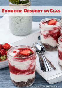 Erdbeer Dessert pinterestpost