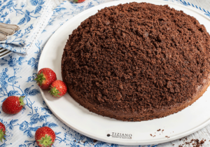 Erdbeer-Maulwurfkuchen