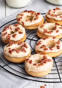 Donuts ohne Donutmaker aus dem Backofen