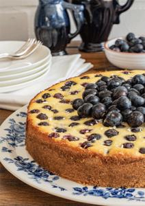 Heidelbeer-Ricotta-Kuchen