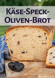 Käse-Speck-Oliven-Brot Pinterestpost