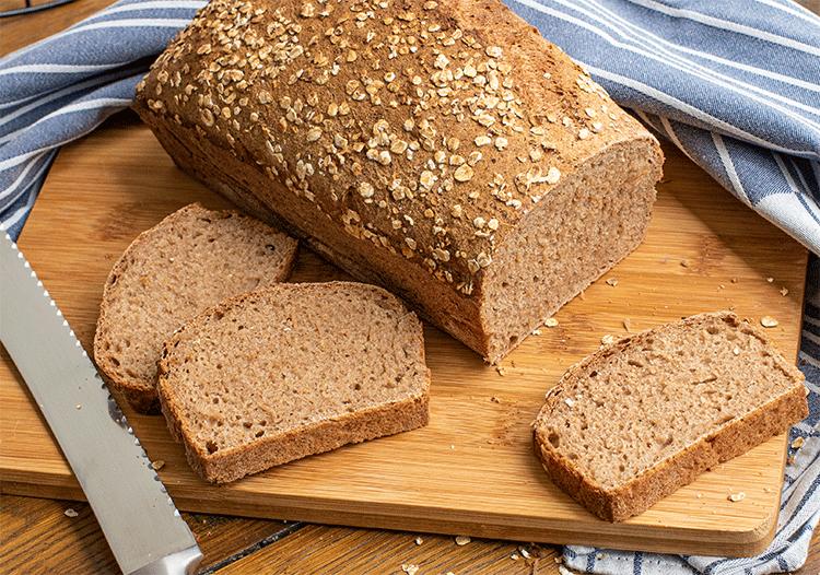 Anschnitt 100% Vollkorn Brot
