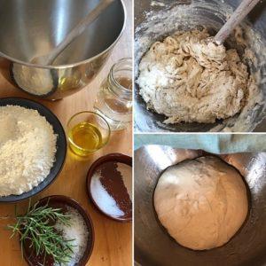 Zutaten und Zubereitung Grill-Fladenbrot