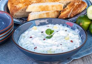Joghurt-Dip zum Grillen