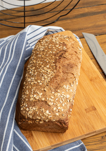 Vollkorn Brot als Kastebrot
