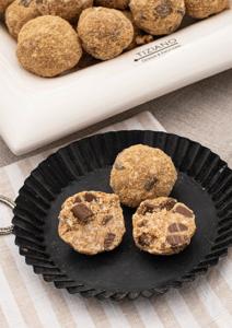 Lustiger Name, leckere Cookie-Kugeln