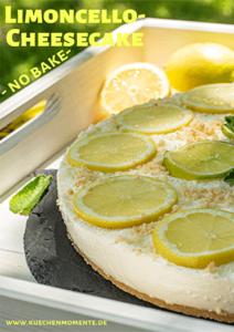 Zitronen-Cheesecake ohne Backen mit Limoncello