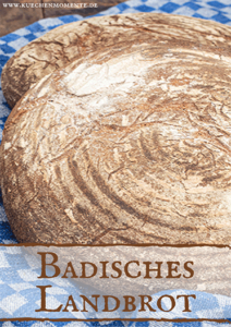 Badisches Landbrot Pinterestpost