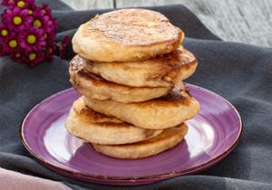 Hotteok gefüllte Pancakes aus Korea