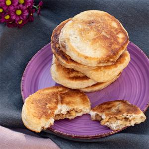Hotteok - gefüllte Pancakes aus Korea