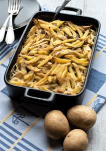 Janssons Versuchung schwedischer Auflauf mit Kartoffeln