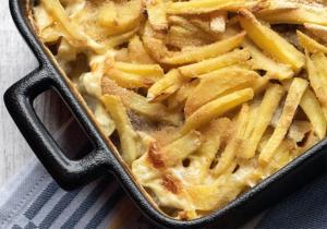Janssons Versuchung Kartoffel-Auflauf mit Fisch Schweden