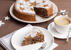 Saftiger Maronen-Walnuss-Kuchen