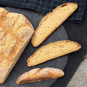 Cornbread ohne Hefe mit Sauerteig