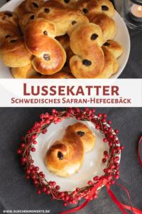 Lussekatter Safran Hefegebäck aus Schweden