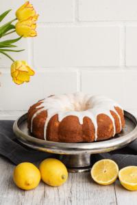 Zitronenkuchen Gugelhupf