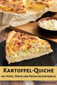 Kartoffel-Quiche Pinterestpost