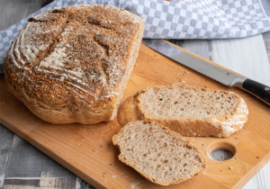 No knead bread aus dem Topf