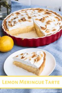 Lemon Meringue Tarte Pinterestpost