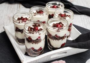 Westfälische Quarkspeise - Dessertklassiker im Glas