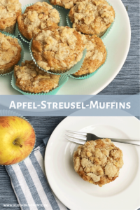 Apfel-Streusel-Muffins Pinterestpost