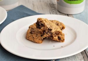 Chocolate Chip Cookies, die nicht zerlaufen