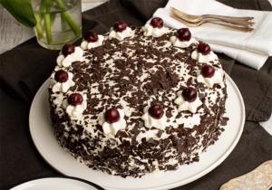 Schwarzwälder Kirsch Torte Variante