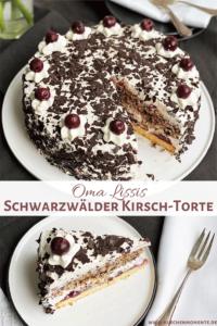 Torte a la Schwarzwälder Kirsch